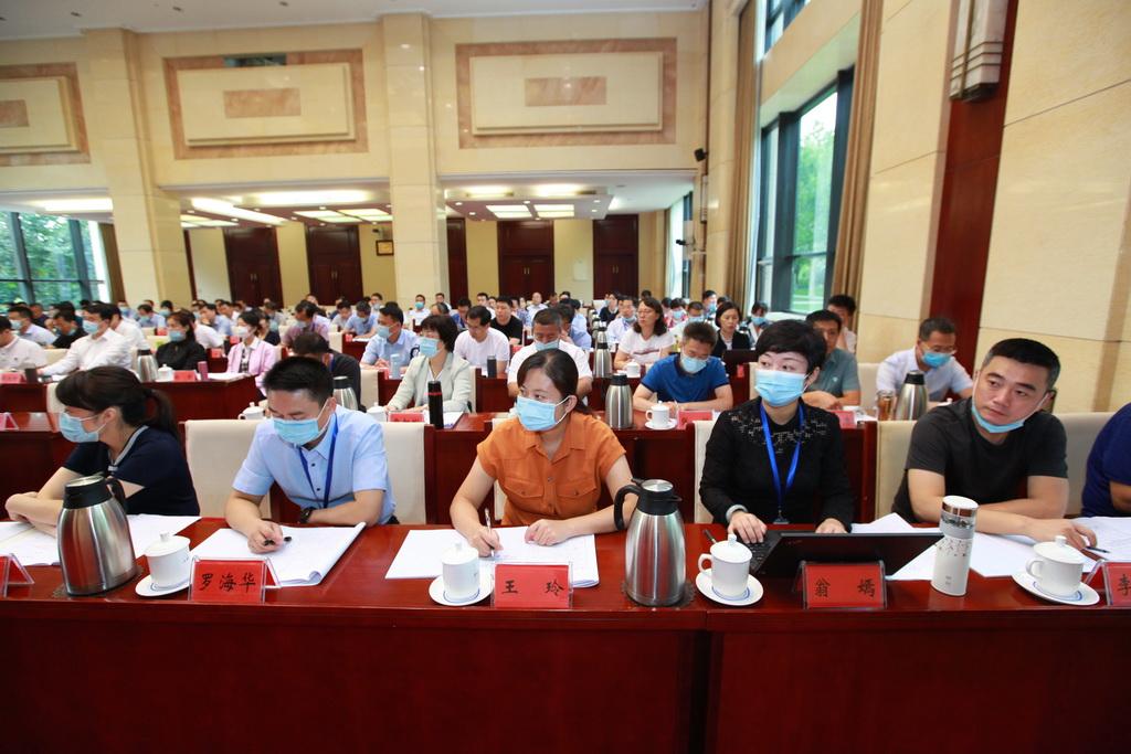 第二十二期新任县委宣传部部长培训班学员听取辅导报告